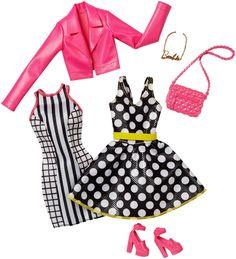 2017_Barbie_Fashionistas_Fashion_Pack_Signature_Style_Pink_Dress_Black_White_Doll.jpg (1365×1500)