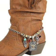 Cowgirls Fashion Boot Jewelry Boot Bling Western Charms available at www.CowgirlsFashion.com