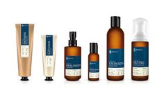 Phenome - organic skincare products by Ah Studio , via Behance