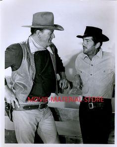 "John Wayne Dean Martin Sons Of Katie Elder 8x10"" Photo From Orig Neg #L7059"