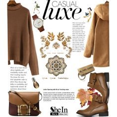 A fashion look from October 2015 by karicarmina featuring Burberry, Croft & Barrow, Triwa, Marula and vintage
