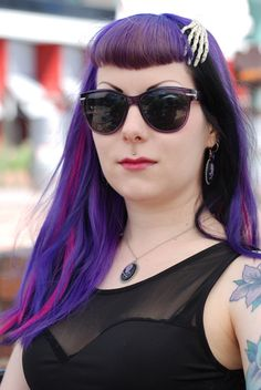 fuckyeah-hair / purple hair