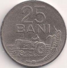 Wertseite: Münze-Europa-Südosteuropa-Rumänien-Leu-0.25-1960