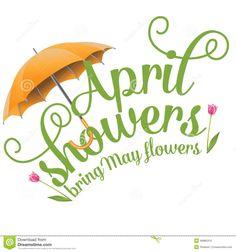 free month clip art rainy month of april clip art image the word rh pinterest com free april clipart images april birthday clipart free