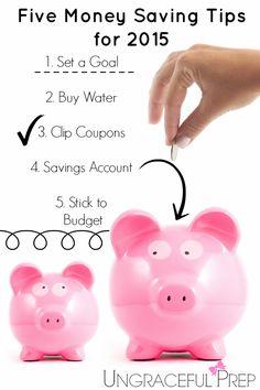 Five Money Saving Tips for 2015