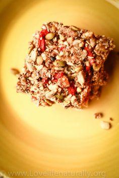 Raw Superfood Energy Bars