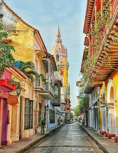 Cartagena, Bolivar, Colombia - Which City to Travel Colombia South America, South America Travel, Ushuaia, Colombia Travel, Photos Voyages, Belle Photo, Cool Places To Visit, Travel Photos, Travel Inspiration