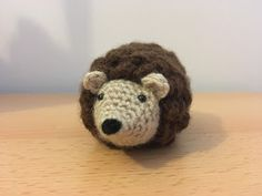 Crochet... Amigurumi : Mini Hedgehog