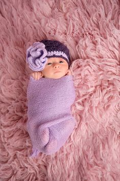 Image detail for -... Baby Girl Hat, Crochet Newborn Photography Prop, Holidays, Christmas