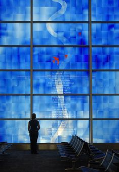 Indianapolis Airport   Bendheim Stained Glass - Project Gallery