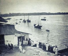 Old Mombasa harbour as photographed by adventurer William Walter Fitzgerald, circa Mombasa Kenya, Adventurer, Sailing Ships, Explore, History, Vintage, Beautiful, Vintage Comics, Historia