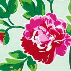 Celadon Floral Laminated Cotton Last PIece