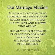 Marriage Mission