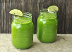 This green mean juice will help you start your cleanse. Start fresh this 2014