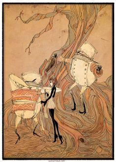 Alice in Wonderland Ilustrations - Taringa!