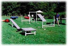 backyard dog agility courses   Dog training, training for dogs, agility training