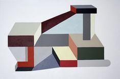 Paintings by Nathalie Du Pasquier