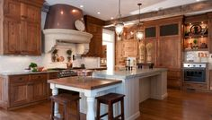 Beautiful, rich wood cabinets by Deane, Inc. | Kitchens By Deane | Portfolio | Kitchens