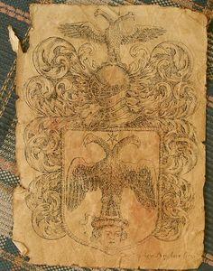 Имитация старинного пергамента. Старение бумаги