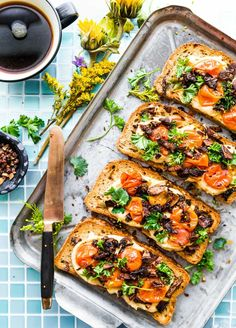 Vegan Mushroom Bacon Breakfast Toast (Gluten Free) | Cotter Crunch