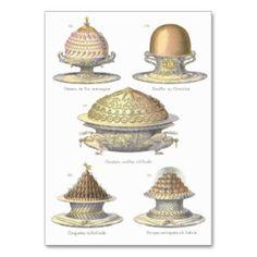 Elegant French Bakery: Vintage Pastry Illustration Business Card