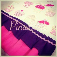 Cupcake desenli runner.. Sipariş için; pinabutik@gmail.com