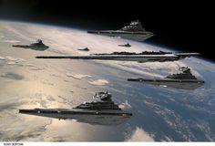 Star Destroyers...