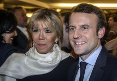 Emmanuel Macron Wife   U.S. News in Photos   ImageSerenity.com