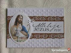 Wielkanoc religijne kartki ręcznie robione Rękodzieło kujawsko-pomorskie Zbójno