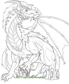Detailed Coloring Pages for Adults | Detailed Dragon Colouring Pages Pictures