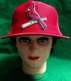 St. Louis Cardinals Adjustable Snapback Cap by CoryCranksOutHats on Etsy