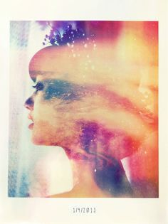 thatartzygirl:    Got the urge to work on some new double exposures; here's a preview. Tinkering with lots more to come!  (Aerial by me, September 2012/profile byMichelle,December 2012)