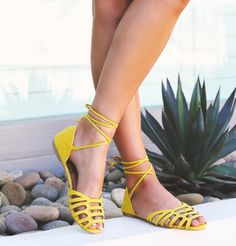 perfect color pop for spring #yellowstyle