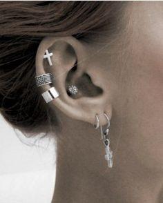 Stylish cartilage piercing earrings #cartilage #earrings www.loveitsomuch.com