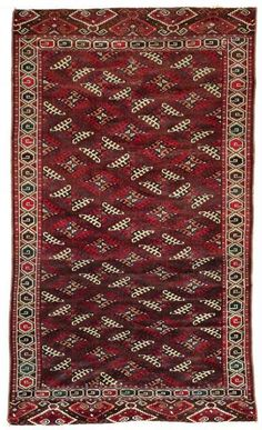 Yomud Rugs: A Yomud Kepse Göl Main Carpet