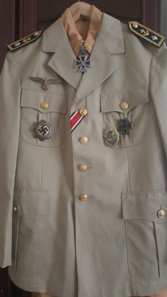 German Uniforms, Military Jacket, Russia, Army, Coat, World War, German Army, Armed Forces, Military Uniforms