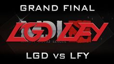 LGD vs LFY Grand Final MDL 2017 Highlights Dota 2 - Part 2