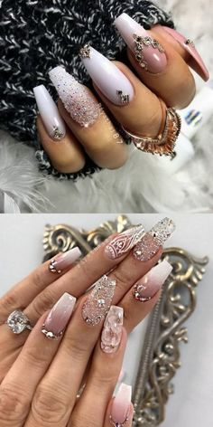 The Newest Acrylic Nail Designs are so perfect for fall and winter! Hope they ca… The Newest Acrylic Nail Designs are so perfect for fall and winter! Hope they can inspire you and read the article to get the gallery. Gorgeous Nails, Love Nails, Pretty Nails, Fun Nails, Acrylic Nail Art, Acrylic Nail Designs, Nail Art Designs, Nails Design, Acrylic Nails Autumn