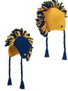 Pacers Mohawk Knit Hat -  23.36 Indiana Pacers mohawk hat from adidas is a  navy and 09dbad68f535