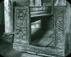 MERMAID CHAIR | Zennor, Cornwall: 'Old photo of the mermaid chair in Zennor Church'     ✫ღ⊰n