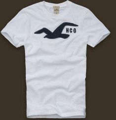 NWT Hollister Men's Seagull polo T-Shirt Dudes Ambercrombie & Fitch  All Size' *