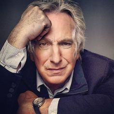 """Alan Rickman publicity photo for the Broadway play """"Seminar"""" . 2011 by Gavin Bond. Alan played Leonard in """"Seminar"""" from November 2011 to May Alan Rickman Always, Alan Rickman Severus Snape, Harry Potter, Best Actor, Famous Faces, Gorgeous Men, Celebrity Crush, Actors & Actresses, Handsome"""