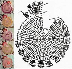 Christmas Crochet Patterns Part 8 - Beautiful Crochet Patterns and Knitting Patterns Crochet Motif Patterns, Crochet Designs, Knitting Patterns, Crochet Christmas Ornaments, Christmas Crochet Patterns, Crochet Home, Crochet Gifts, Crochet Kitchen, Crochet Chicken