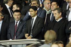 Nasser Al Khelaïfi et Nicolas Sarkozy Psg, Beckham, All Star, Photos Du, People, Barcelona, Star, People Illustration, Folk