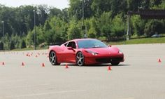 Groupon - Autocross Driving Experience in an Exotic Car from Dream Drive Exotics (Up to 50% Off) in Iowa Speedway. Groupon deal price: $99