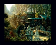 This is Rivendell from Lord of the Rings