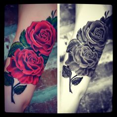 black rose tattoo - Google Search