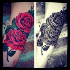 black rose tattoo - Google Search