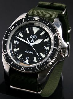 Cabot Watch Company (CWC) Royal Navy Divers Watch.