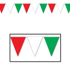 Decorate for your next patriotic celebration. Use the Red, White & Blue Pennant Banner to decorate your house business or party location for any American holiday. One per package banner 30 feet long. Italian Party Decorations, Italian Themed Parties, Outdoor Banners, Outdoor Bunting, Pennant Banners, Thinking Day, Patriotic Party, Party Accessories, Red White Blue